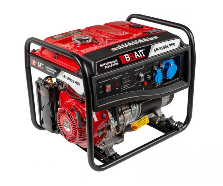 Генератор бензиновый GB-6500E PRO
