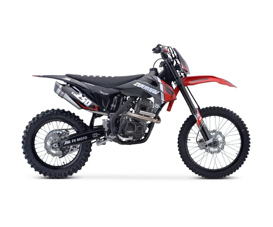 Кроссовый мотоцикл ZUUMAV FX CR 250CB (ZS-172FMM-3A)