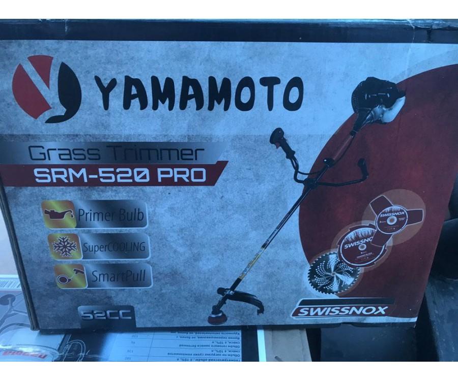 Коса бензиновая Yamamoto SRM-520 PRO