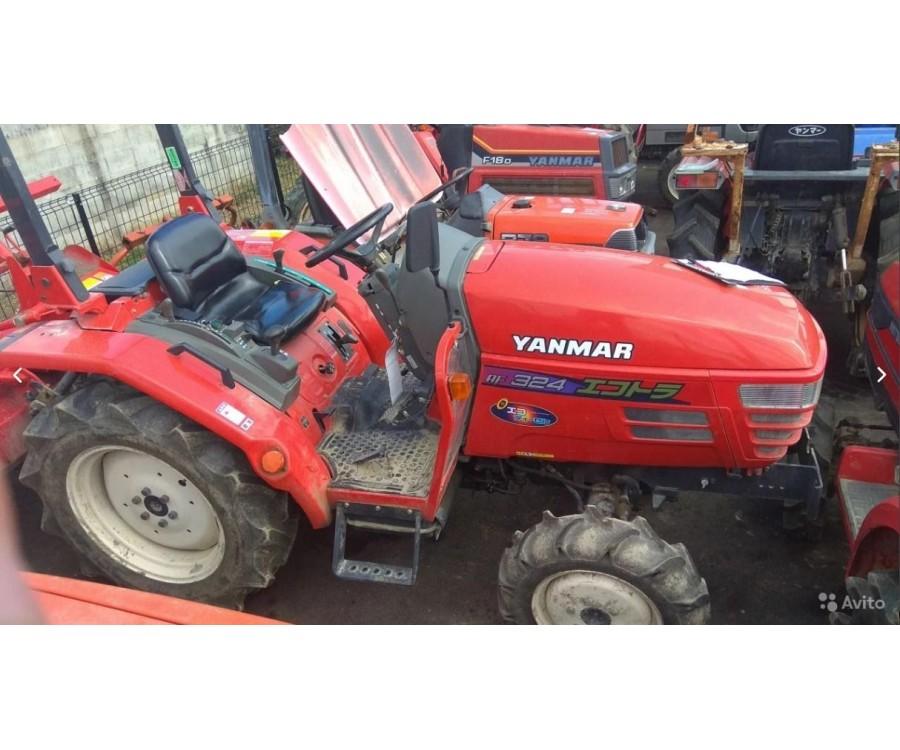 Минитрактор Yanmar AF324D 4WD