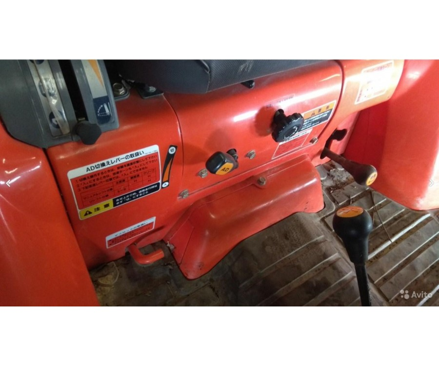 Минитрактор Kubota GL-201 4WD