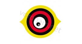 """Визуальный отпугиватель птиц """"Глаз"""" 18*22см"""