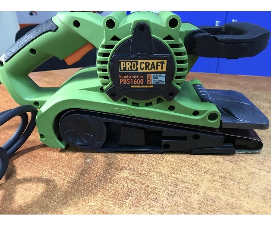 Ленточная шлифовальная машина ProCraft PBS-1600