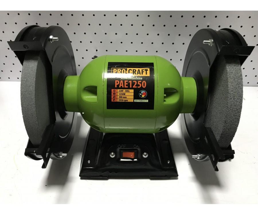 Электроточило ProCraft PAE 1250