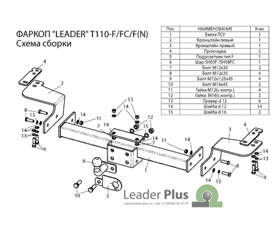 ТСУ для TOYOTA LAND CRUISER 200 / LEXUS LX 570
