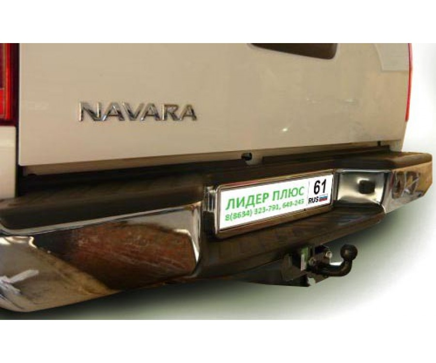 ТСУ для NISSAN NAVARA Double Cab (D40) (со ступенькой)