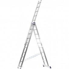 Лестница универсальная трехсекционная, 07 ступеней