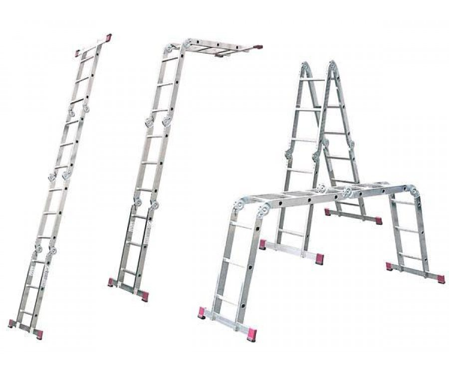 Лестница-трансформер СИБИН, 4х3 ступени