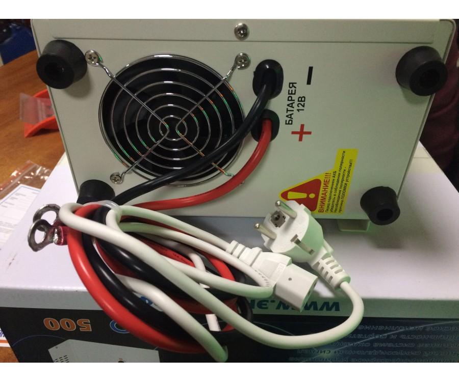 Инвертор ИБП Pro-500 12V Энергия