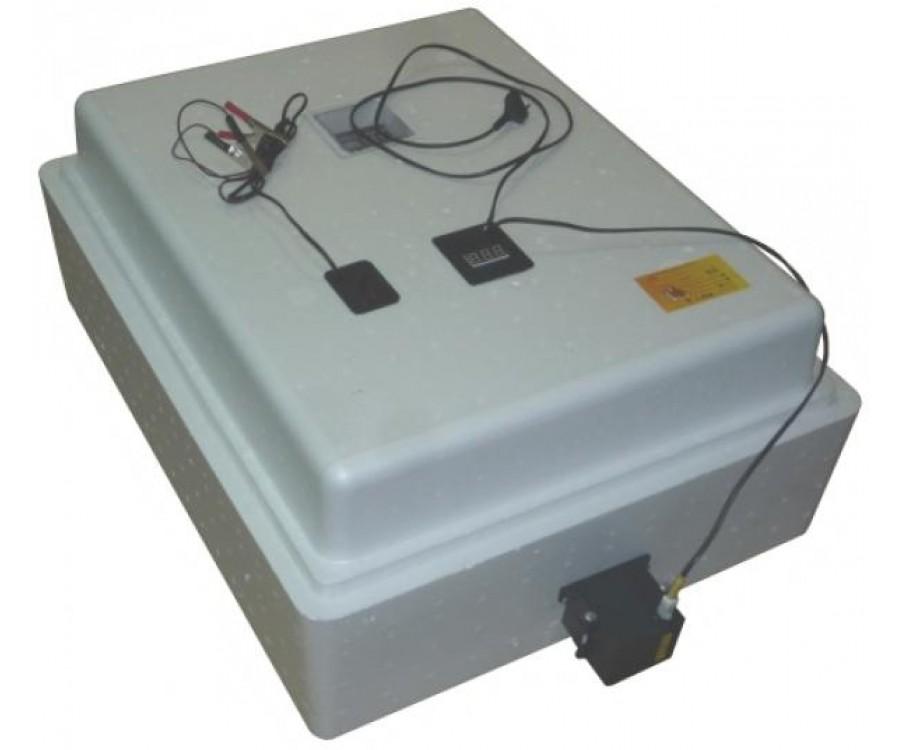 Бытовой инкубатор «Несушка» на 104 яйца, автоматический переворот, цифровой терморегулятор, 12В, измеритель влажности