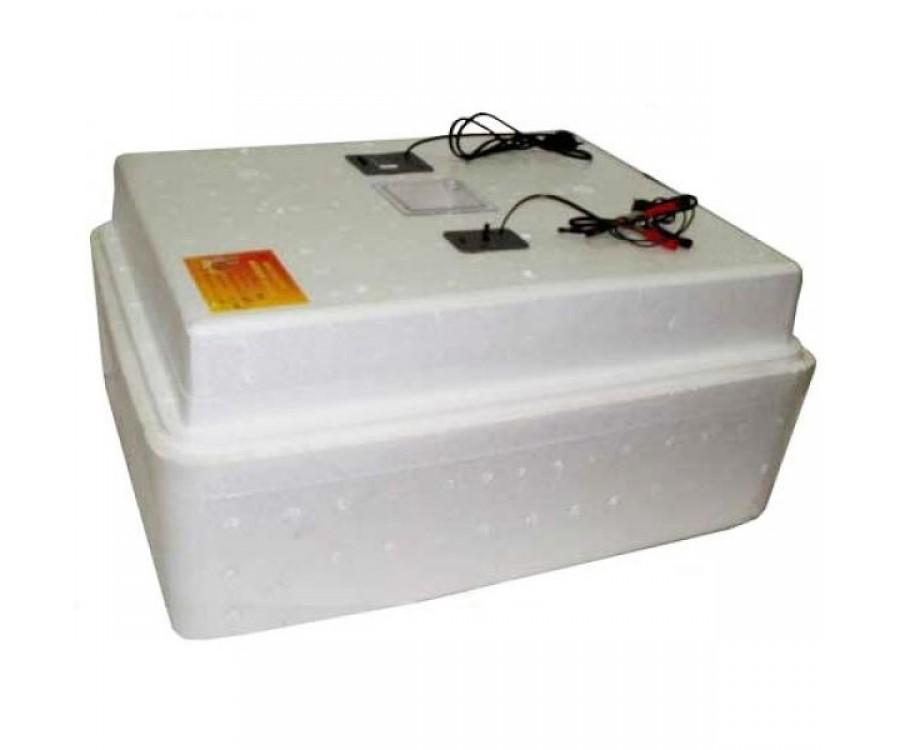 Бытовой инкубатор «Несушка» на 77 яйц, автоматический переворот, цифровой терморегулятор, 12В, измеритель влажности