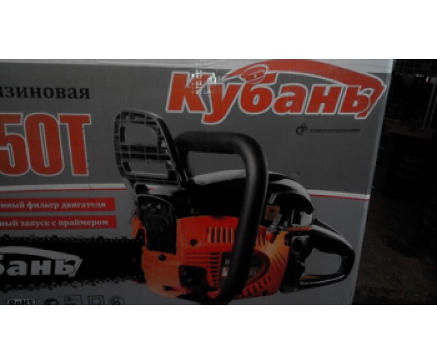 Бензопила Кубань БП-450Т Металл