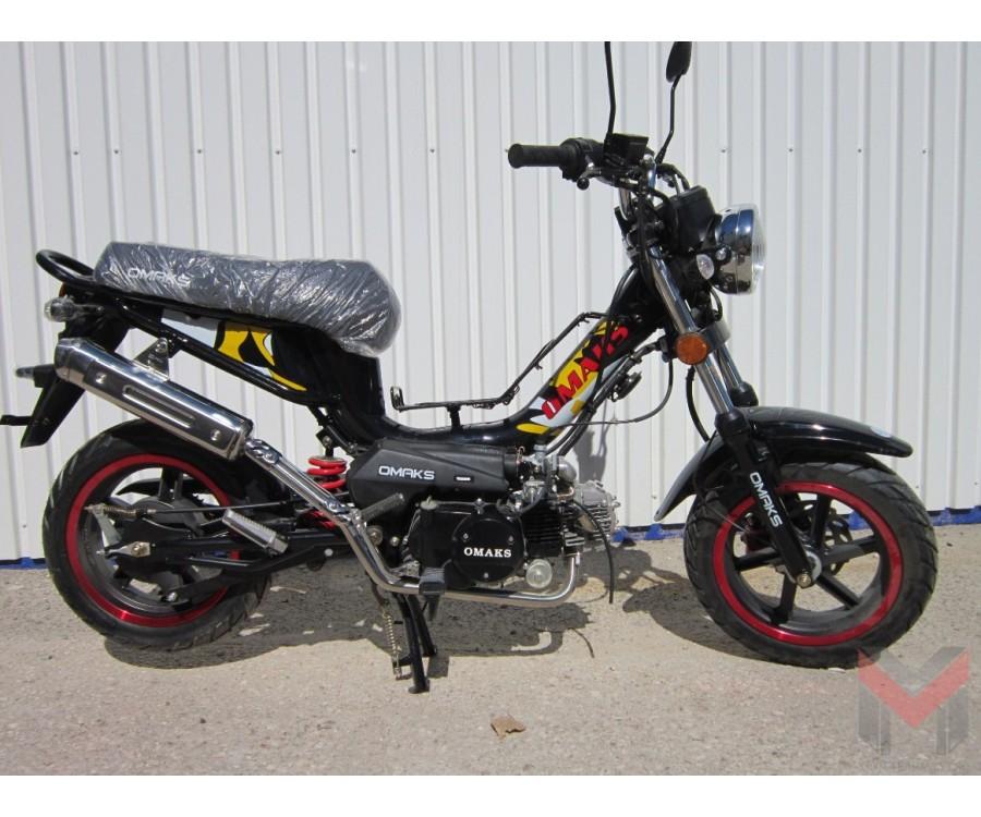 Мотороллер Omaks XF110Q(B) - С педалями!