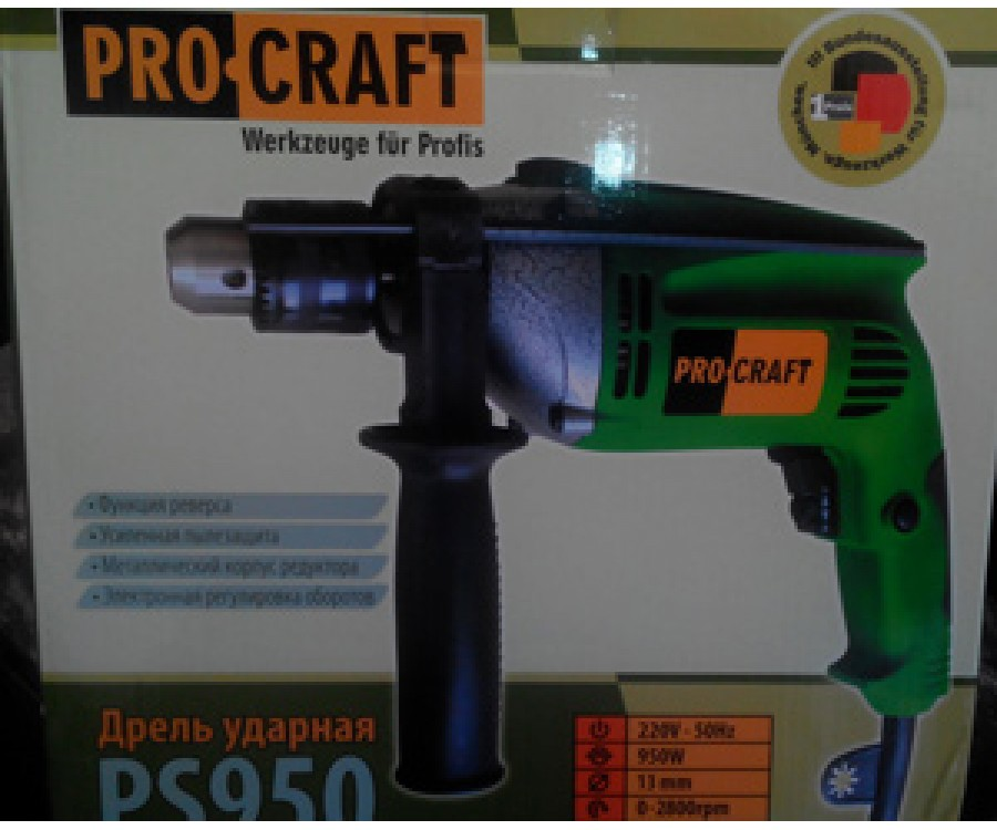 Дрель ProCraft PS-950