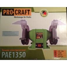 Электроточило ProCraft PAE 1350