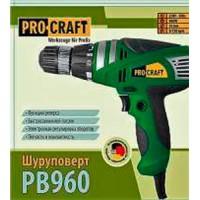 Шуруповерт сетевой ProCraft PB-960