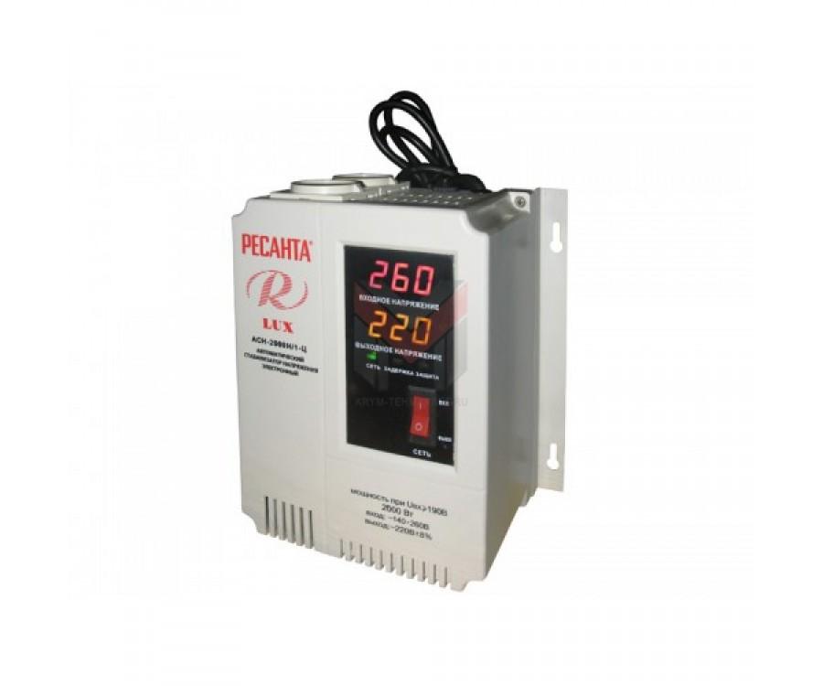 Cтабилизатор Ресанта ACH-2000Н/1-Ц