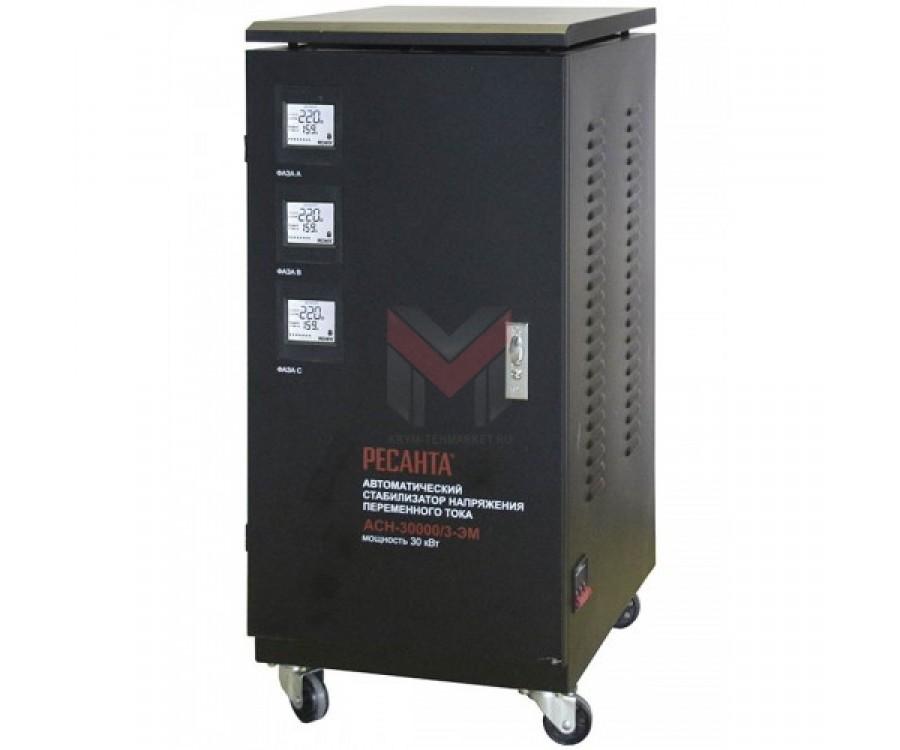 Cтабилизатор трехфазный Ресанта ACH-30000/3-Ц