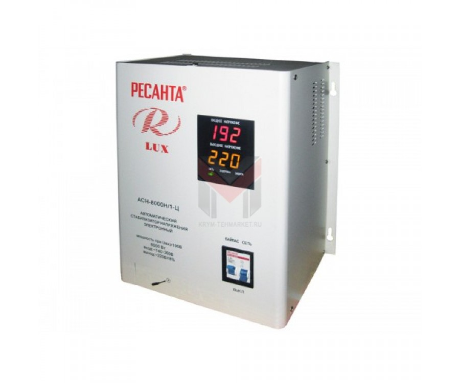 Cтабилизатор Ресанта ACH-8000Н/1-Ц