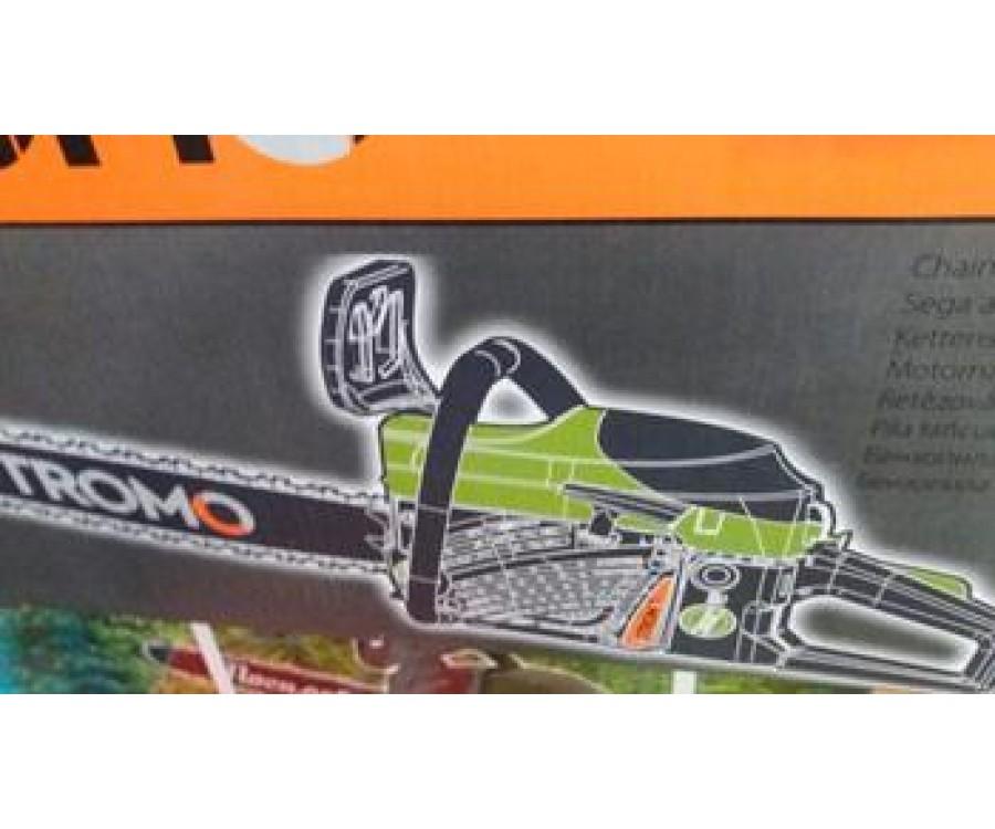 Пила ручная бензиновая SC3900 STROMO