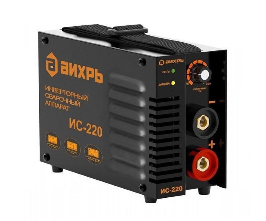 Сварочный аппарат инверторный Вихрь ИС-220