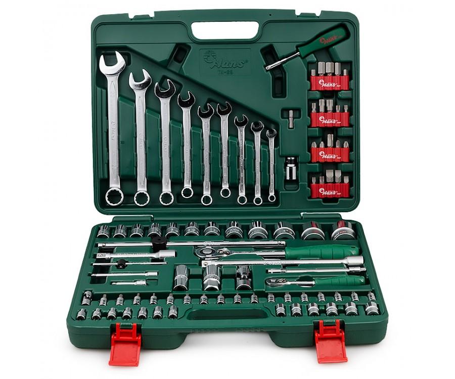 Hans TK-89 набор инструмента универсальный 89 предметов