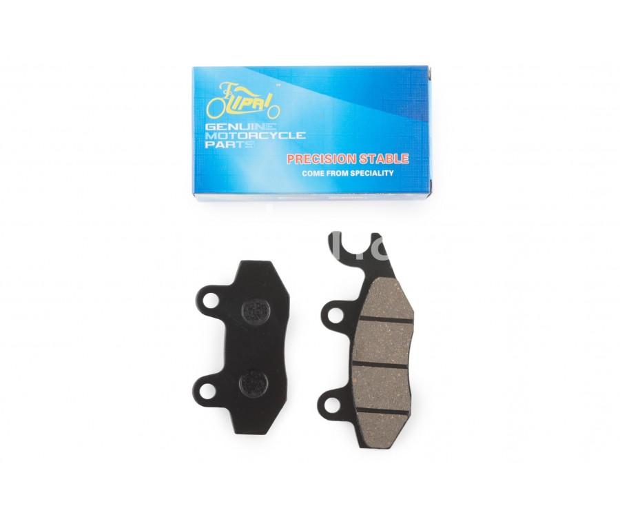 Колодки тормозные (диск) 4T GY6 50-150 (ухо вправо)