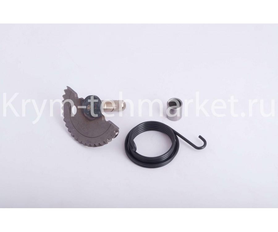 Сектор заводной (полумесяц) 4T GY6 50 (L-60mm) (+пружина, втулка)