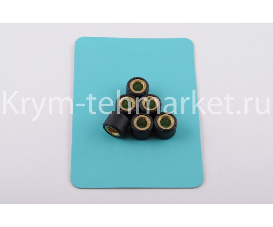 Ролики вариатора Suzuki 16*12 7,5г (черные)