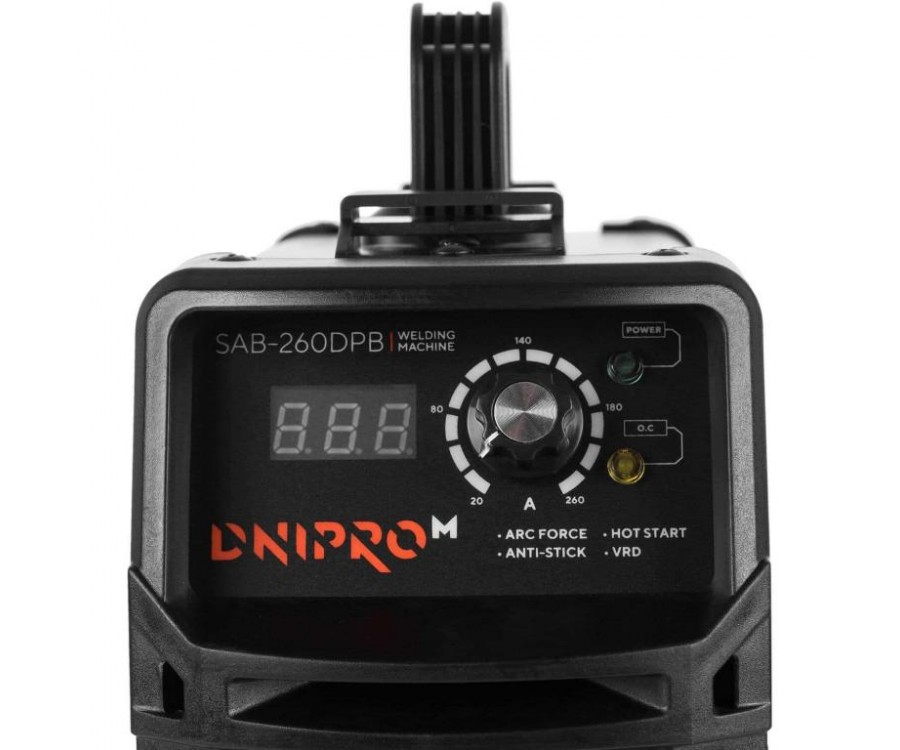 Сварочный инвертор Dnipro-M SAB-260DPB
