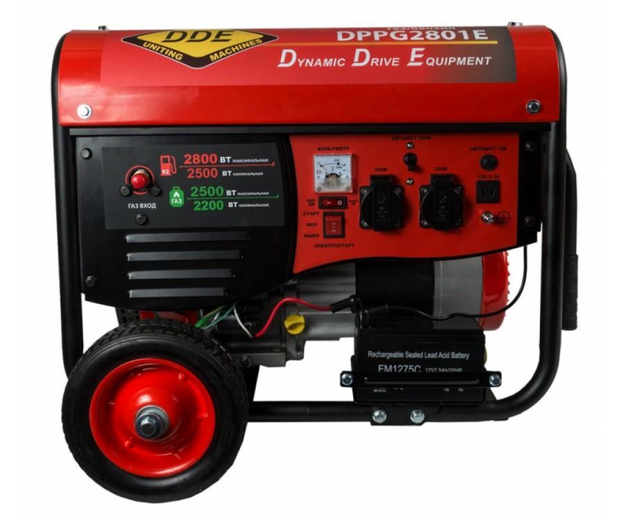 Комбинированный генератор DDE DPPG 2801E