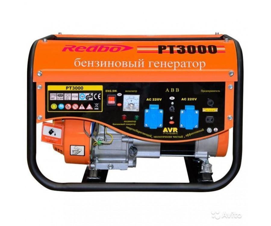 Бензиновый генератор REDBO PT 3000