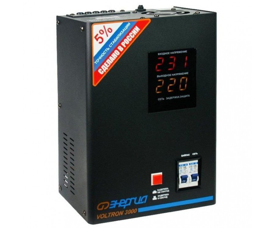 Cтабилизатор VOLTRON - 5000 ЭНЕРГИЯ Voltron (5%)