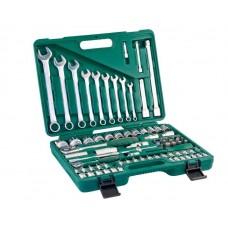 """Набор инструментов Jonnesway 1/4""""DR 4-14 и 1/2""""DR 14-32, 82 пр."""