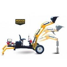 Мини-экскаватор c двигателем Honda